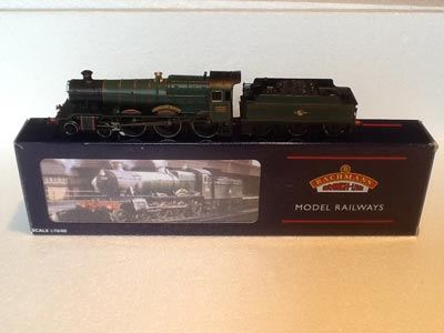 Bachmann Railways 31-308 GWR Class Manor Class Locomotive Lechlade Manor