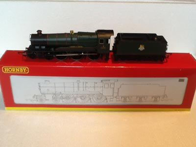 Hornby Railways R2461 GWR County Class Locomotive County of Devon DCC Ready