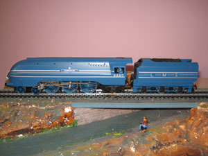 Hornby Railways R2206 Coronation Class Locomotive Coronation 4-6-2 LMS Blue R/N 6220