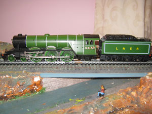 Hornby Railways LNER Class A3 Locomotive Flying Scotsman 4-6-2 LNER Green R/N 4472