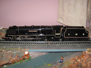 Hornby Railways R459 LMS Duchess Class City of St Albans 4-6-2 LMS Black R/N 6253