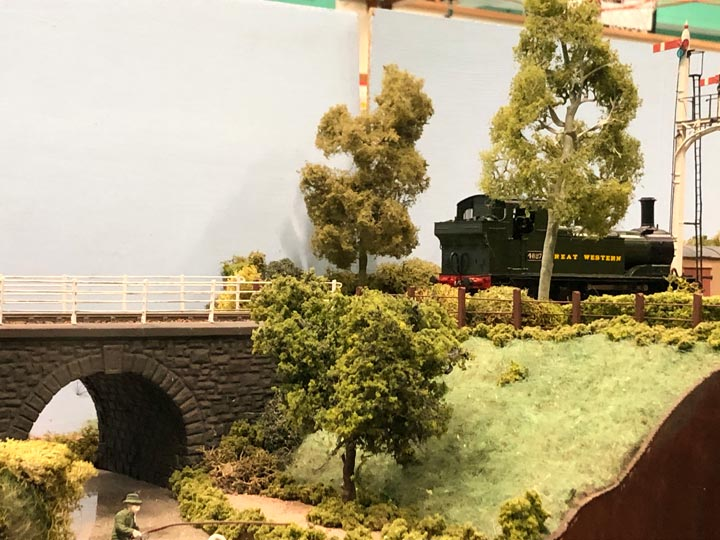 Model Railway Layout from the Southampton Model Railway Exhibition 2020