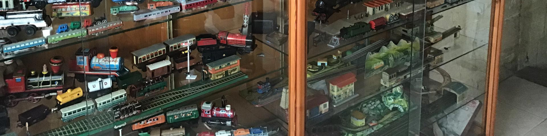 Model Railway Cabinet of Trains and Track at Premier Train Sales